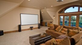 Home theater design decor and designing
