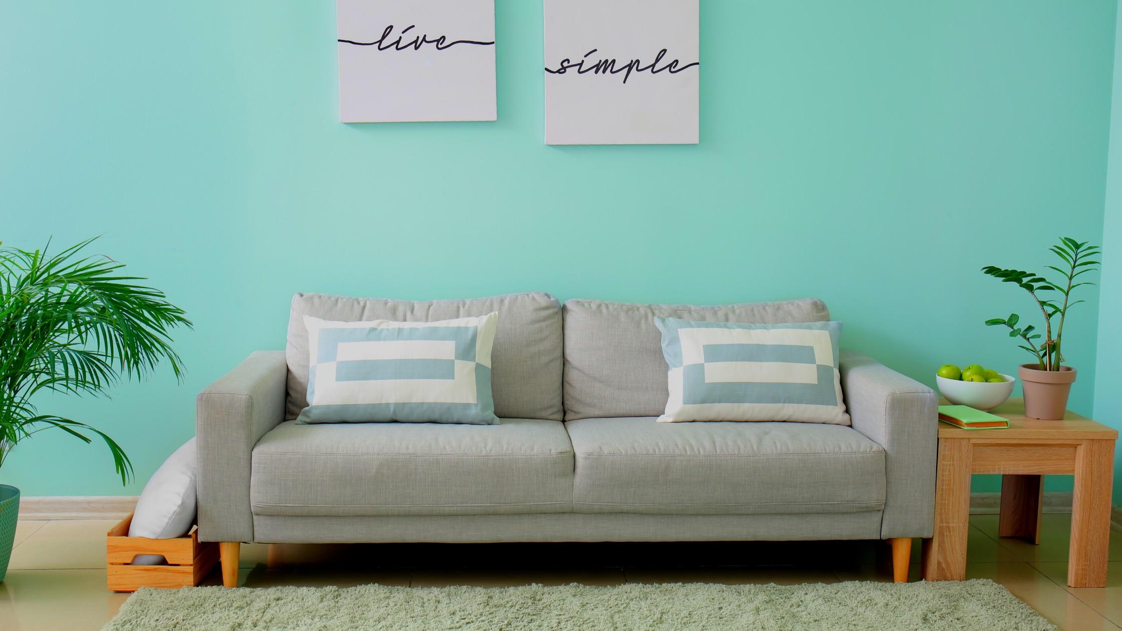 Mint + Pale Gray Decor & Design.